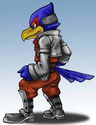 Falco ready to brawl