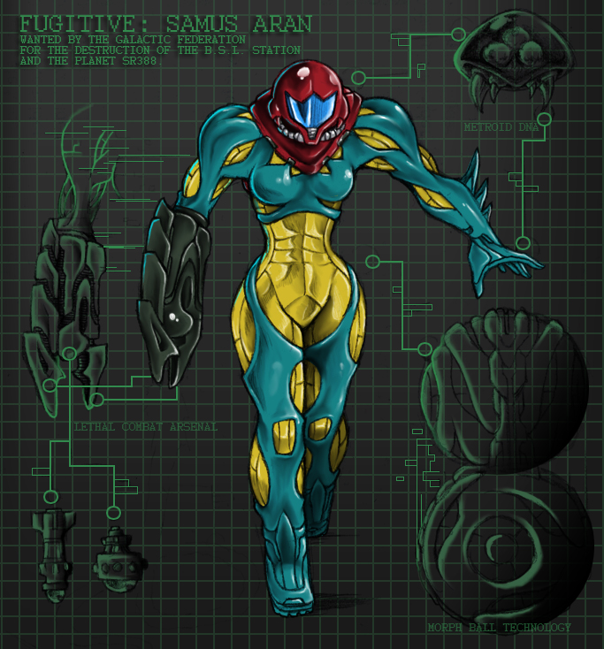 Metroid Fusion Sequel By AIBryce On DeviantArt
