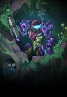 Samus Murky Exploration by AIBryce