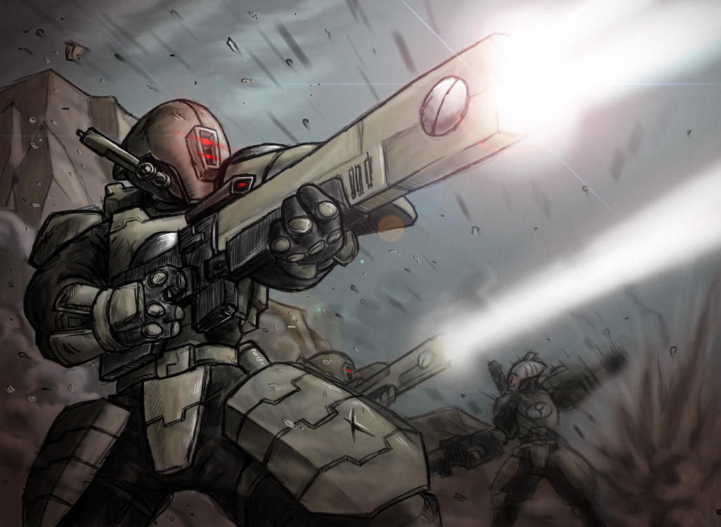 Tau Assault Version 2 by AIBryce