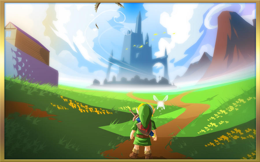 Hyrule Field by AIBryce