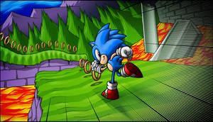 Sonic Marble Zone