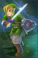 Legend of Zelda Skyward Sword by AIBryce