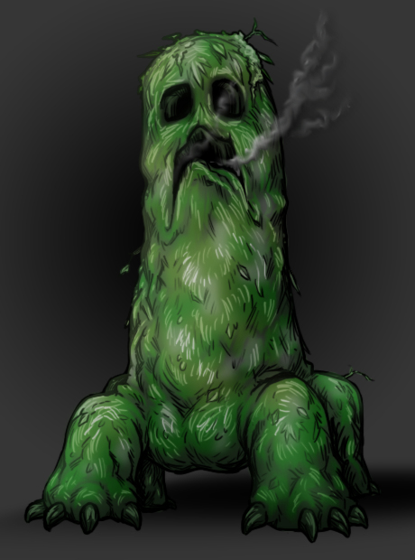 Portrait Of A Creeper By Aibryce On Deviantart