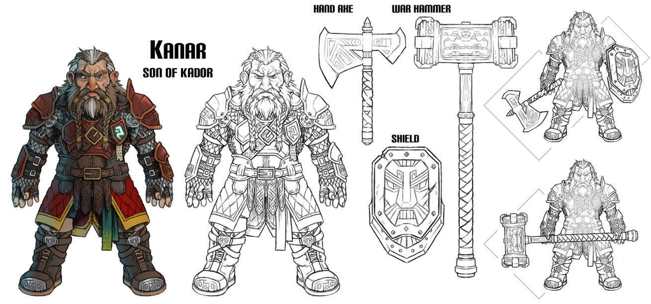 Dwarf Concept by AIBryce