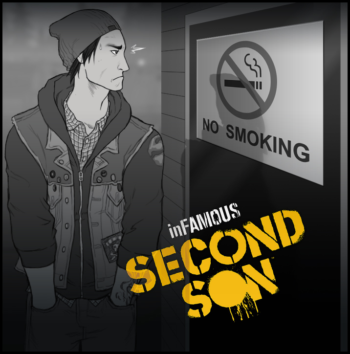 Second Son NoSmoking by AIBryce