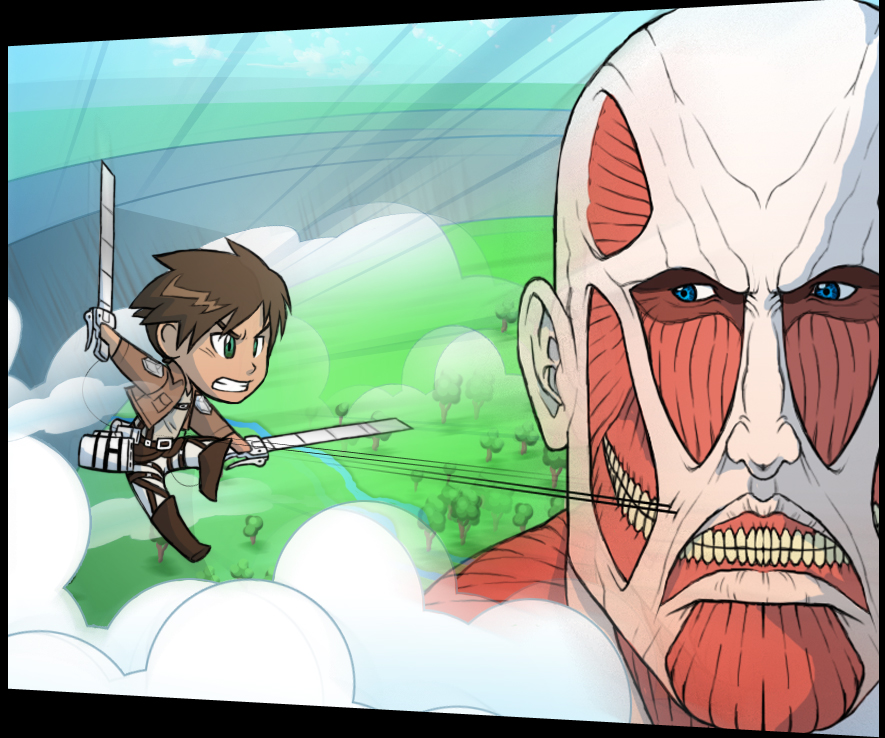 Chibi Attack On Titan By AIBryce On DeviantArt
