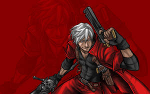 Dante Devil May Cry Custom Wallpaper by AIBryce