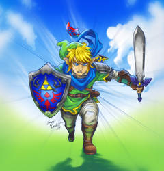 A Hyrule Warrior by AIBryce