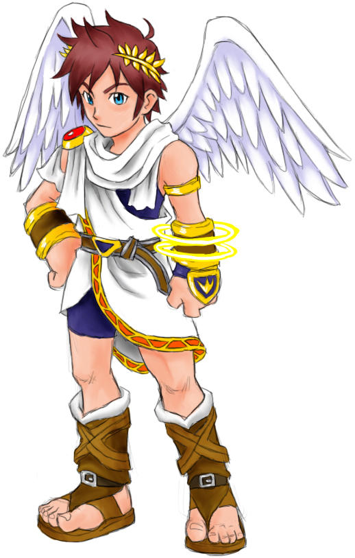 Kid Icarus By AIBryce