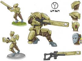 Tau Firewarrior by AIBryce