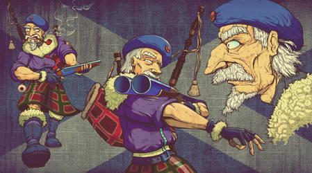 OLD CRAZY SCOTLANDER