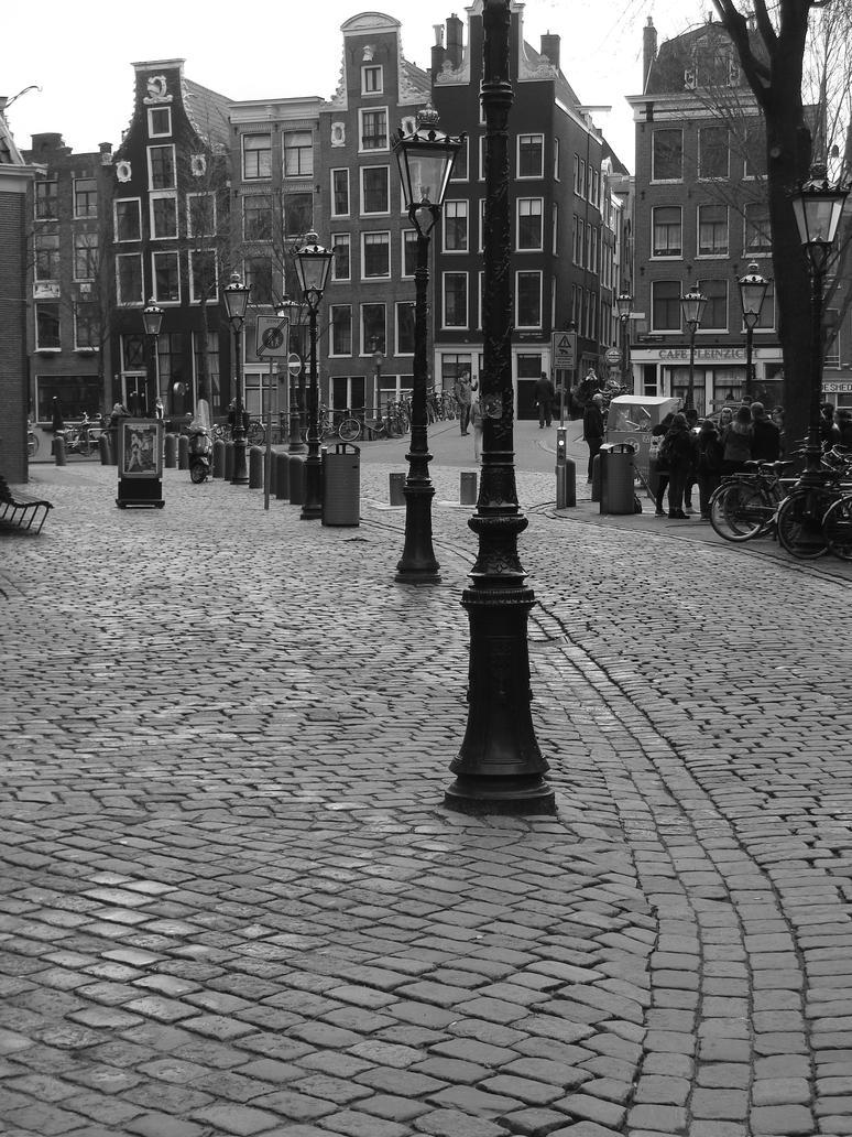 Oudekerksplein by CanisDiabolos
