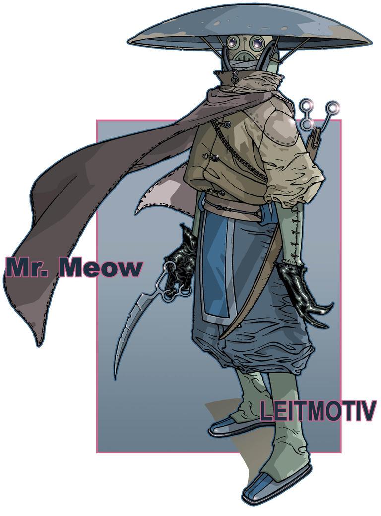 Mr. Meow by timothygreenII