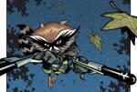 Rocket Raccoon back in action