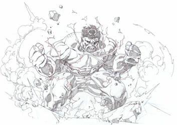 Hulk by timothygreenII