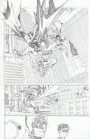 BATMAN and ROBIN by timothygreenII
