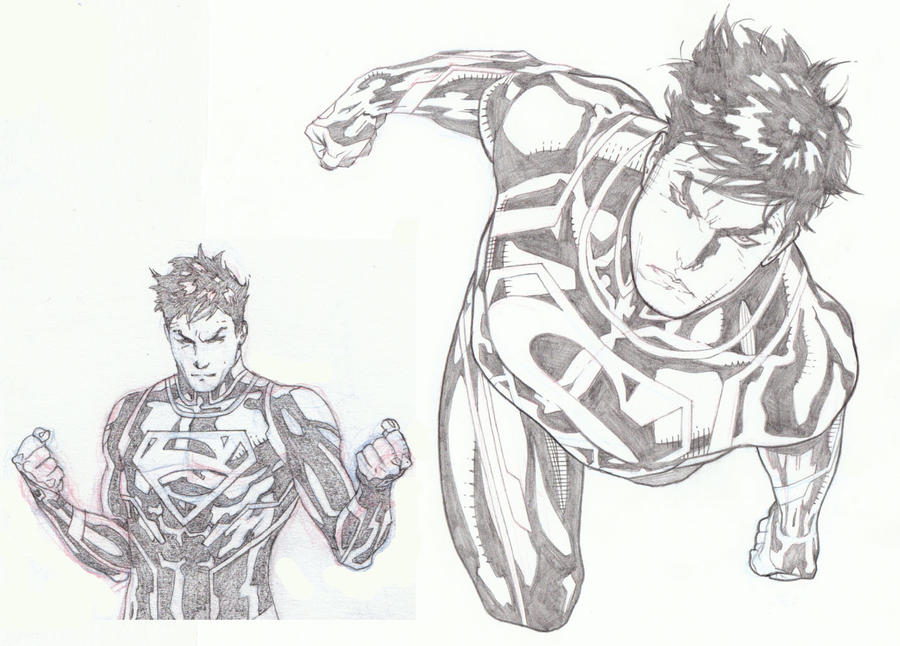 SUPERBOY by timothygreenII