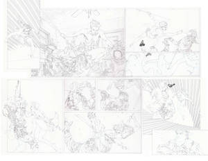 Red Hood 15 pencils page 2 and 3