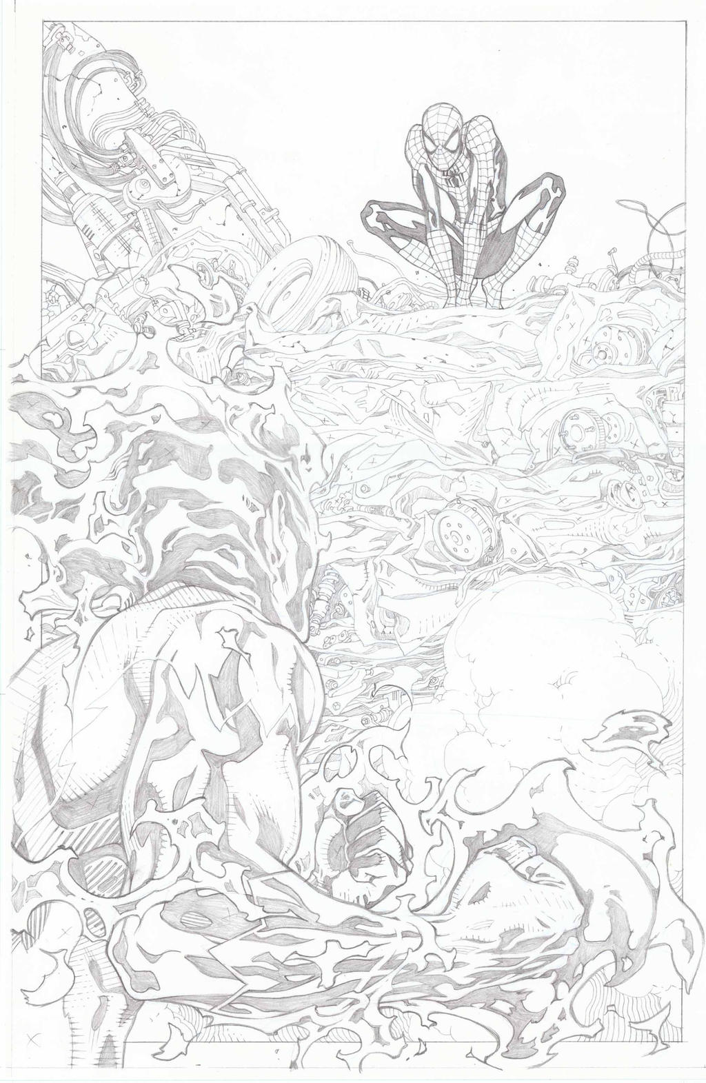 Spider-Man 700.3 page 2 by timothygreenII