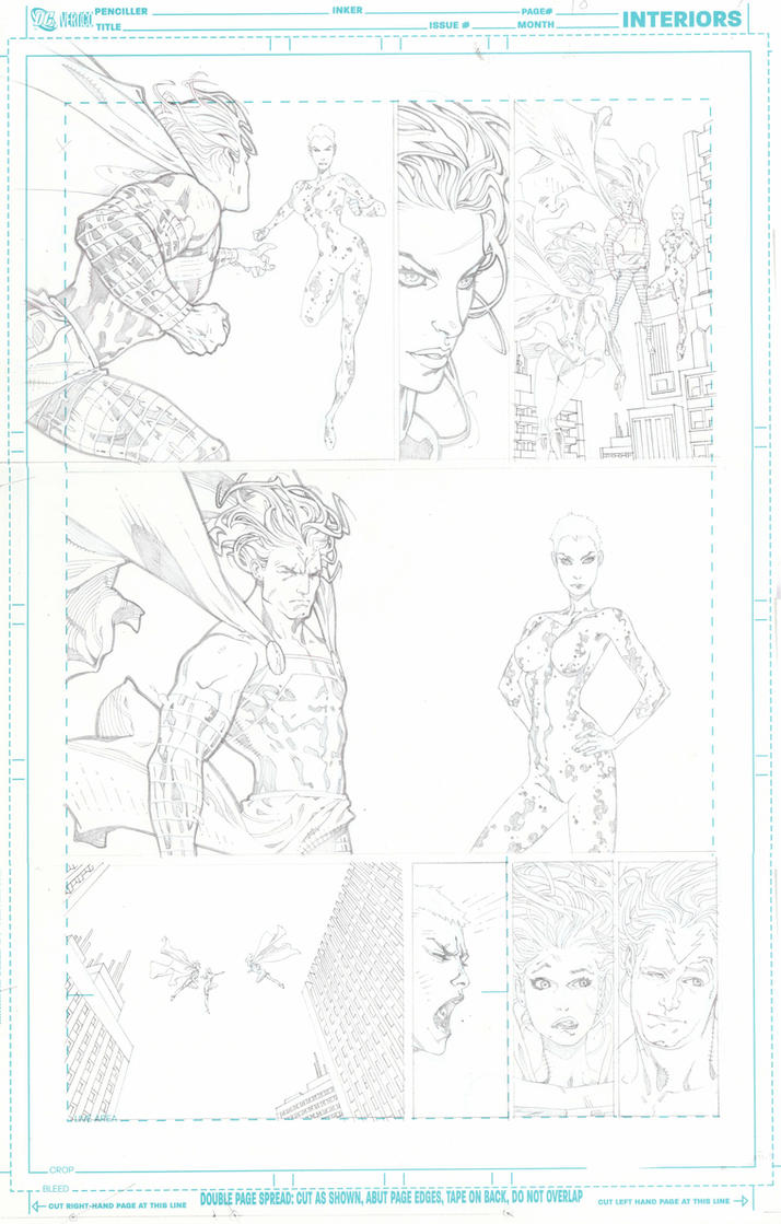 SUPERGIRL pencils pg 10 by timothygreenII