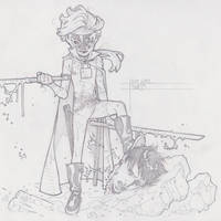 HIT GIRL by timothygreenII
