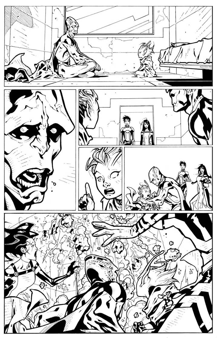 JLU 5 pg 21 INKS by timothygreenII