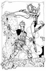 Grifter and Zealot commission by timothygreenII