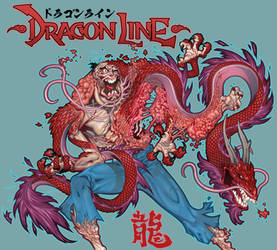 Dragon Line pin up