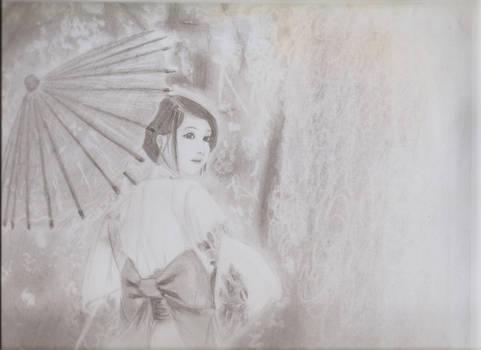 Kimono Parasol