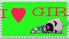 I heart GIR by erana