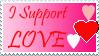 I support LOVE by erana