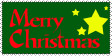 Merry Christmas Stamp by erana