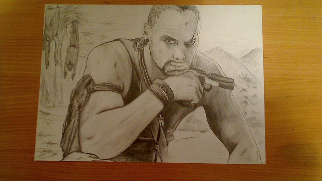 Far Cry 3 (Vaas Montenegro) by ClickyCrisp on DeviantArt