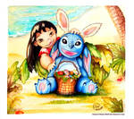 Lilo and Stitch: Happy Easter