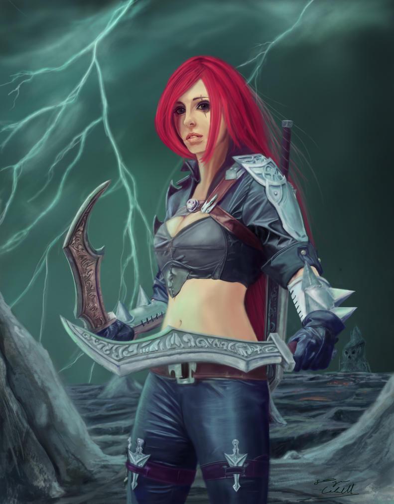 Katarina by E-Dwayne-Caldwell