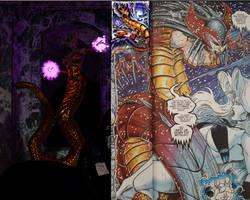 Chaos! Comics Argony 3d vs. original