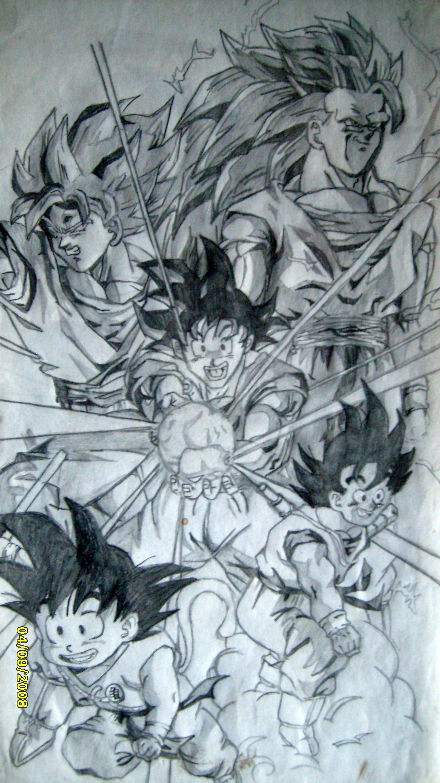 Fotos de Goku fase 100
