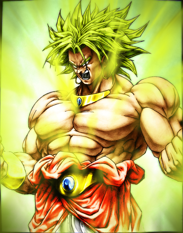 dragon ball z broly super saiyan 3. DBZ-Broly- The Legendary Super