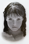 Realistic Face Study (Emma Arterton)