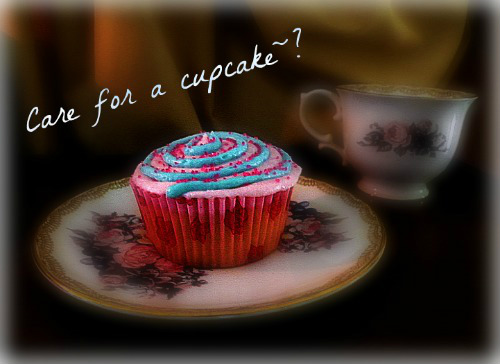 Care for a cupcake~? by PastaAmore