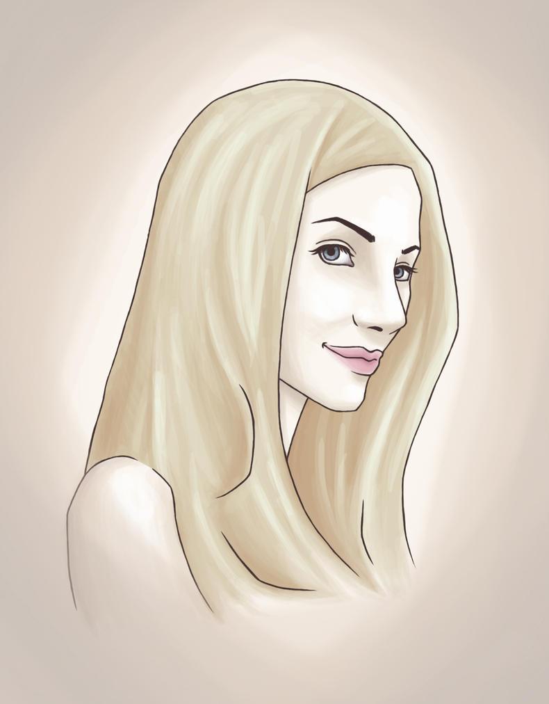 Portrait by vo-qw