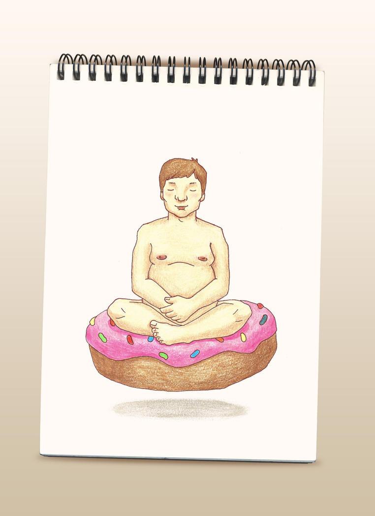 Donut meditation by vo-qw
