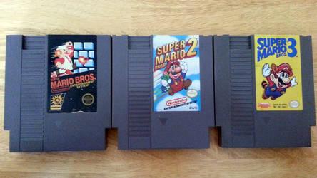 All Three Original SMB Games!!!