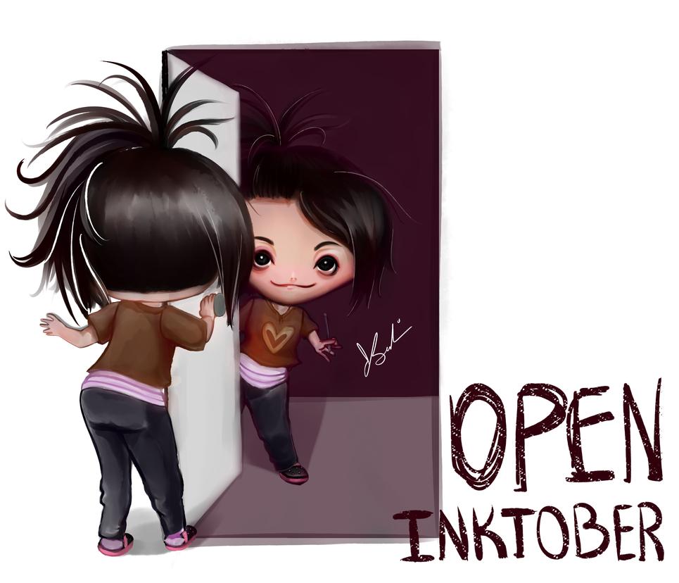 Open Inktober 2017 by Complicada