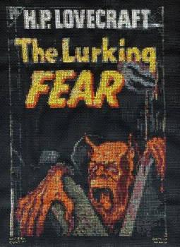 The Lurking Fear -cross-stitch
