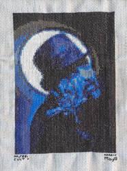 King Diamond - cross-stitch