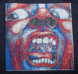 King Crimson - cross-stitch