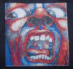 King Crimson - cross-stitch