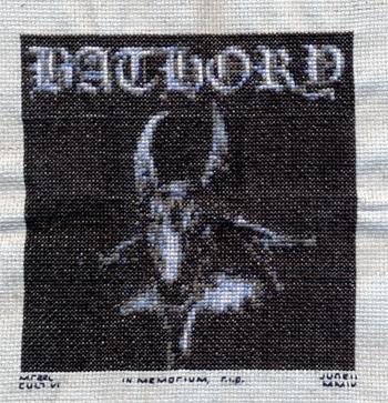Bathory - cross-stitch